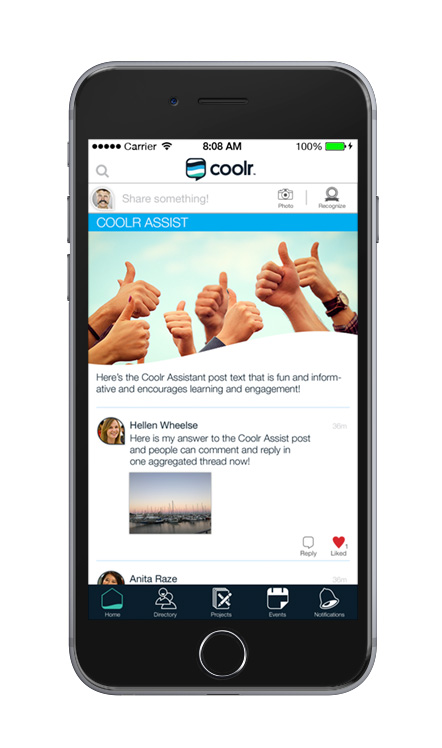 coolr mobile app