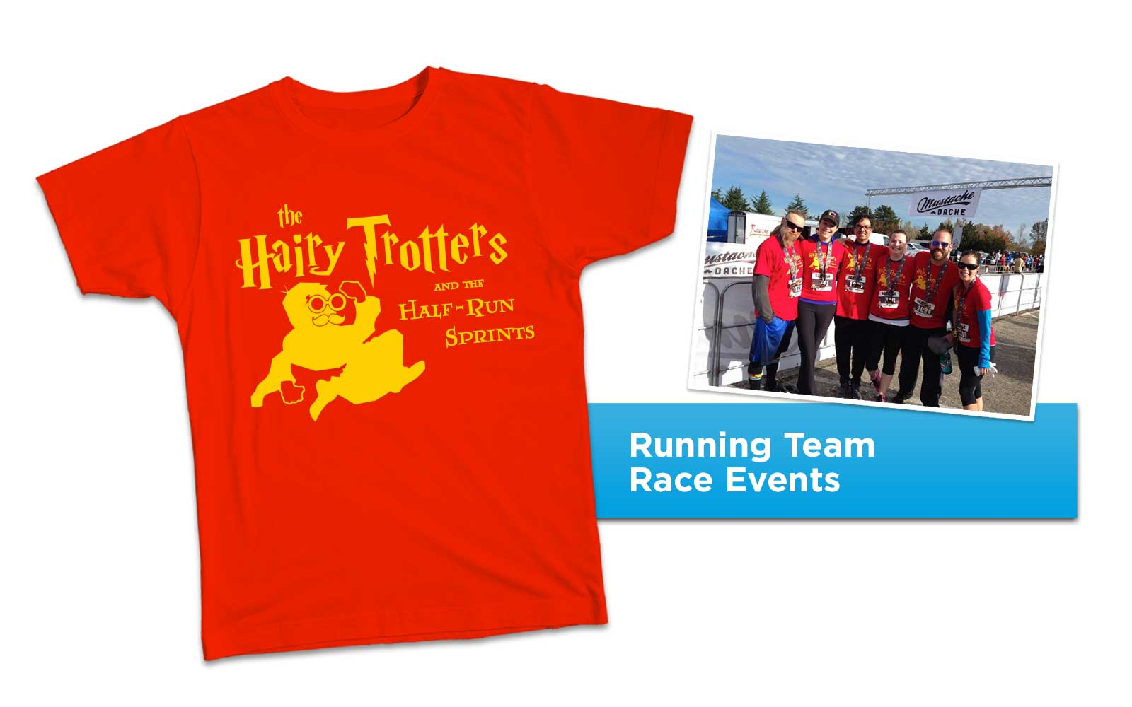 Hairy Trotters Logo Tee